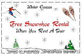 Snowshoe Coupon